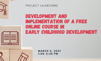 "FEd, UPOUFI, and RAFI-DACF to launch their new project: ""Development and Implementation of Free Online Course on ECE"""